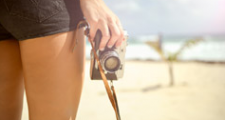 砂浜 カメラ