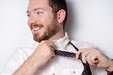 外国人男性ネクタイ