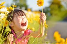 黄色い花子供