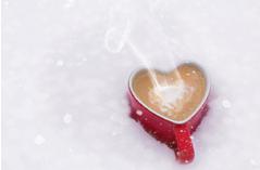 ♥雪コーヒー